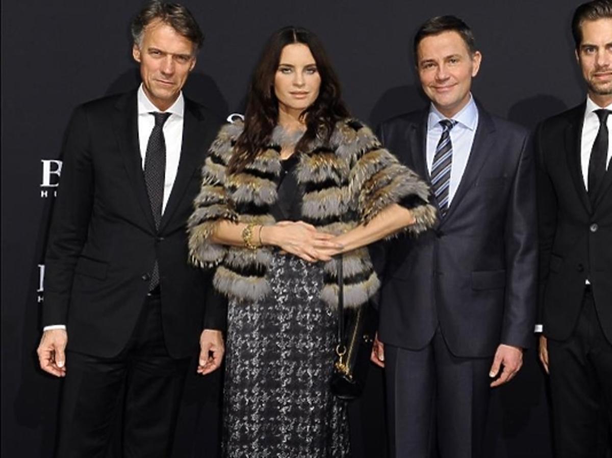 Joanna Horodyńska i Krzysztof Ibisz podczas BOSS Fashion Event w Galerii Mokotów