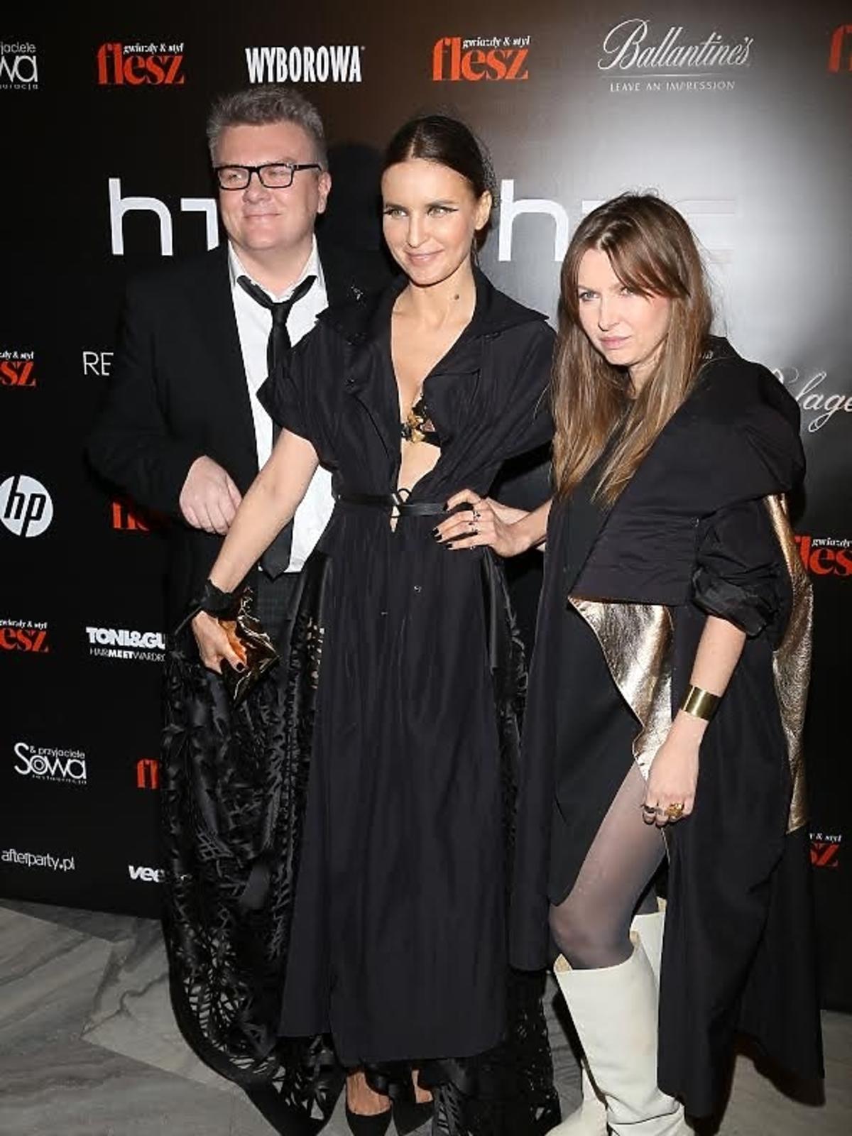 Joanna Horodyńska i MMC na imprezie Flesz Fashion Night