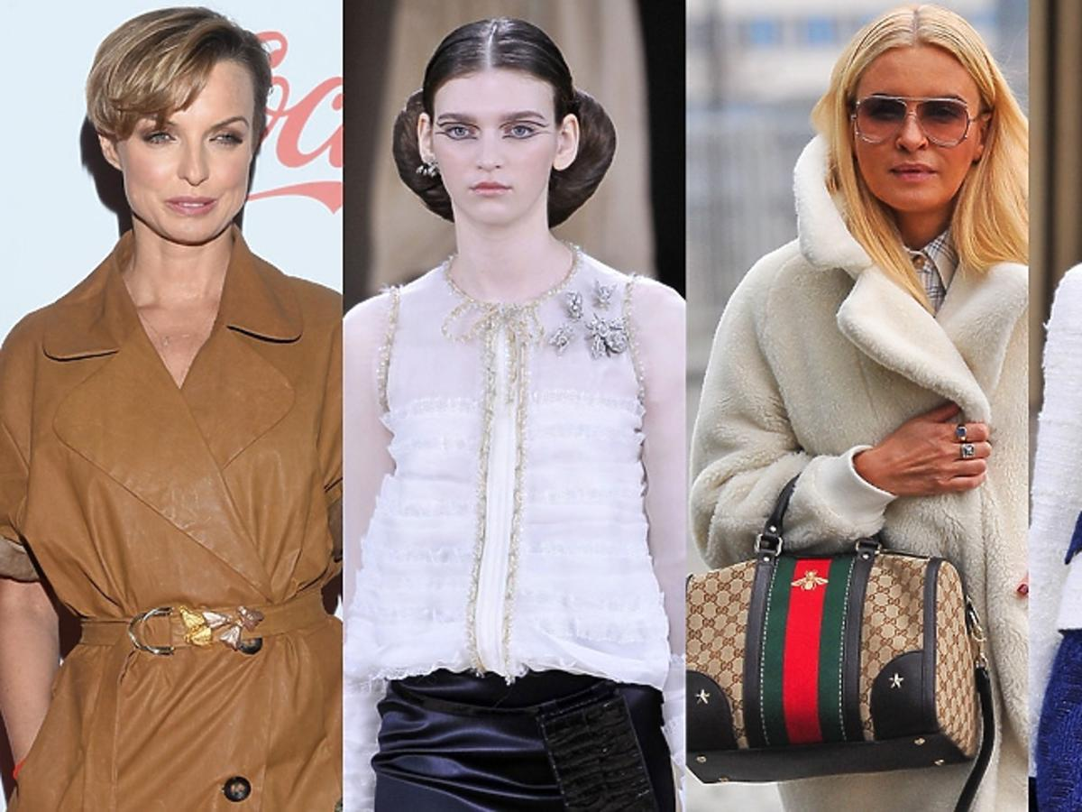 Joanna Horodyńska, Katarzyna Sokołowska, modelki z pokazu haute couture chanel