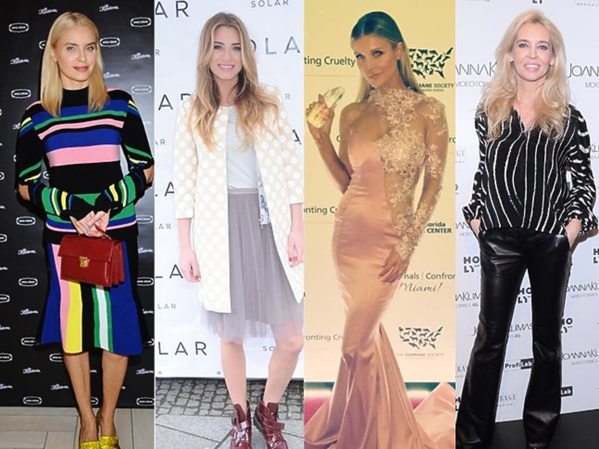 Joanna Horodyńska, Marcelina Zawadzka, Joanna Krupa, Bogna Sworowska, Paulina Krupińska w dobrych stylizacjach