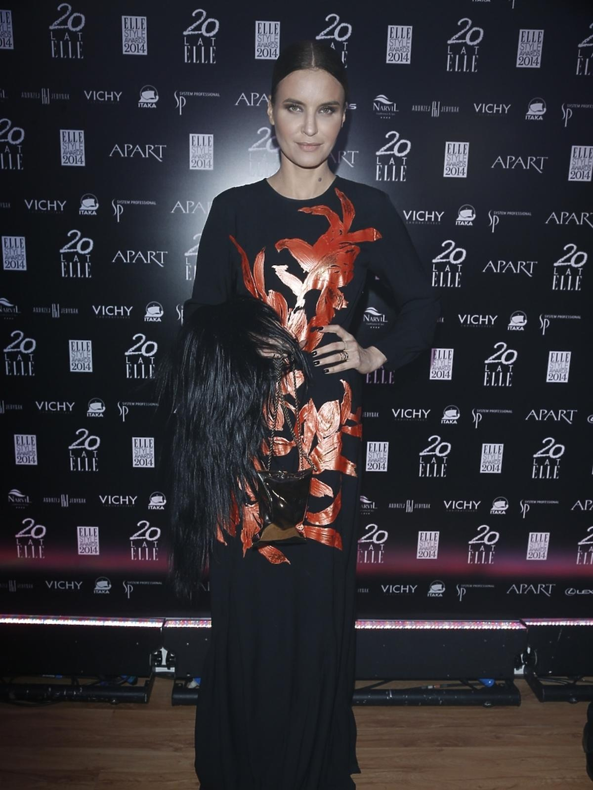 Joanna Horodyńska na Elle Style Awards 2014