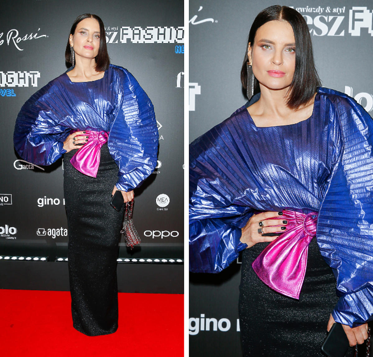 Joanna Horodyńska na gali Flesz Fashion Night 2019