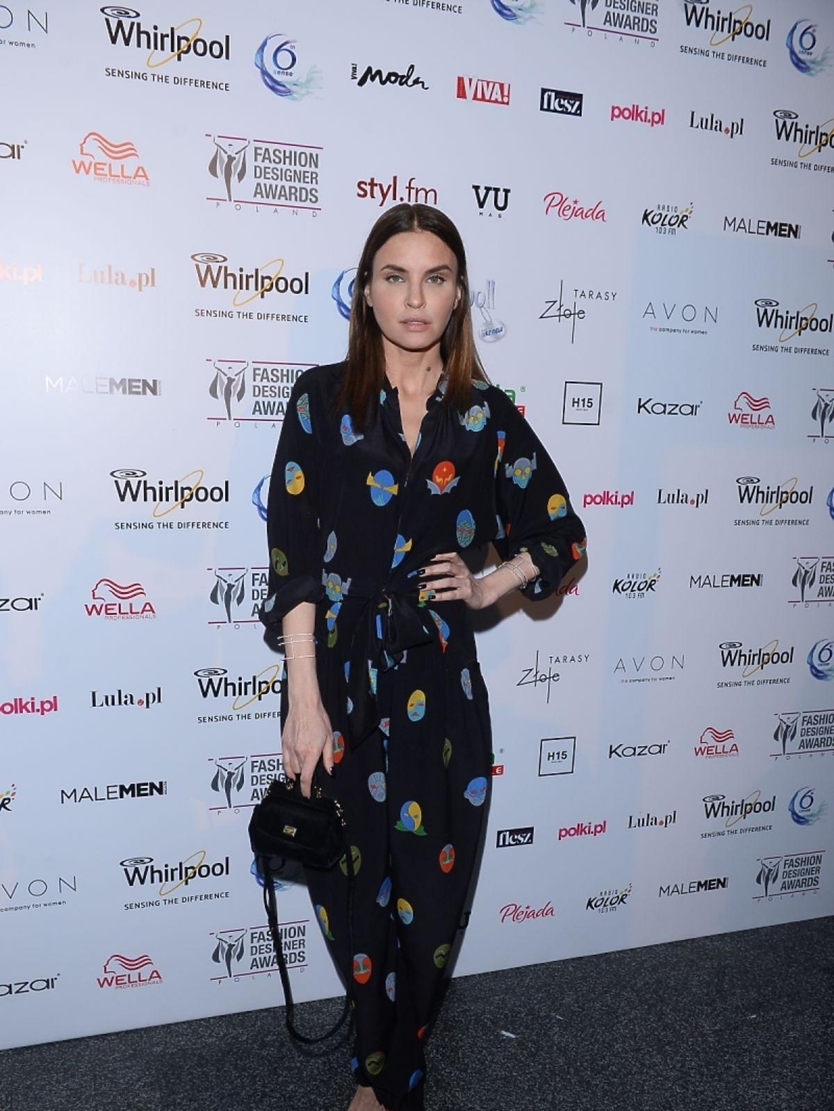 Joanna Horodyńska na imprezie Fashion Designer Awards