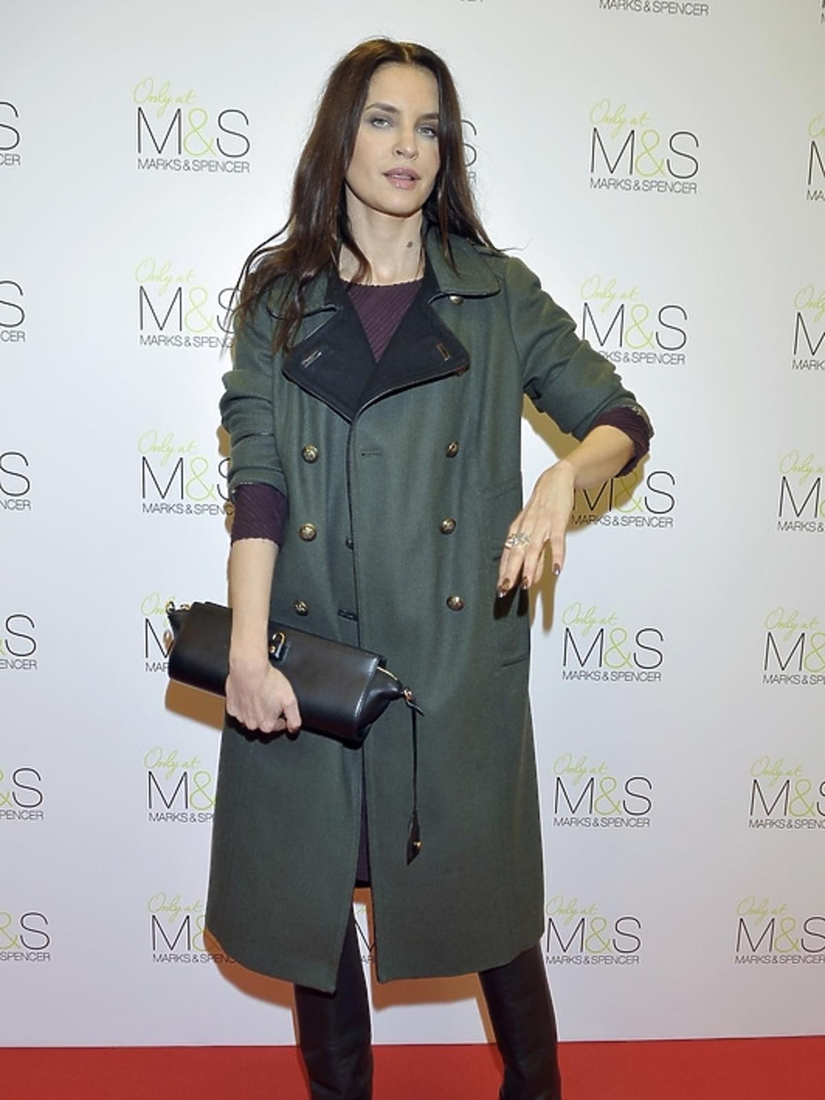 Joanna Horodyńska na pokazie Marks&Spencer