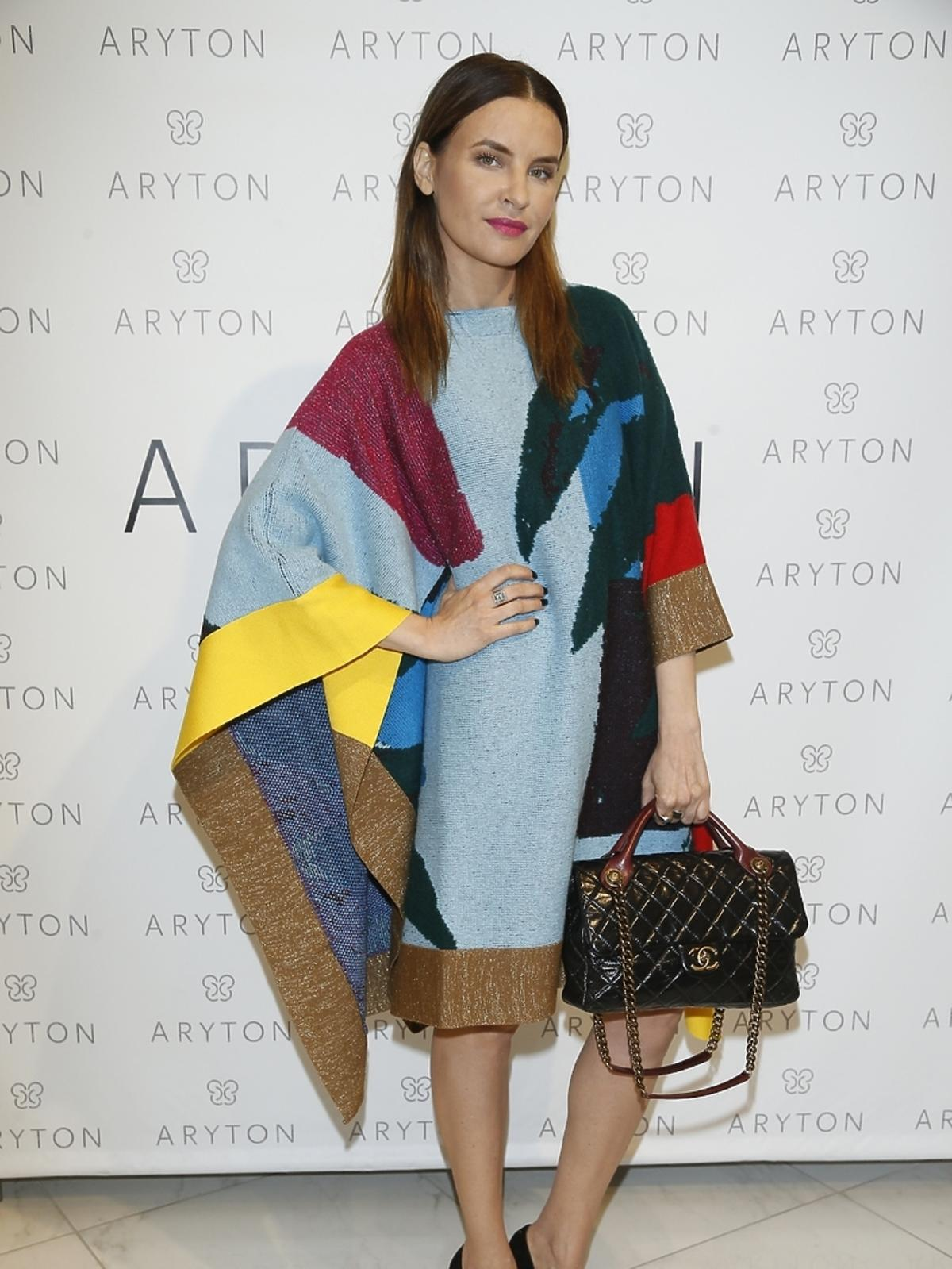 Joanna Horodyńska na pokazie nowej kolekcji marki Aryton