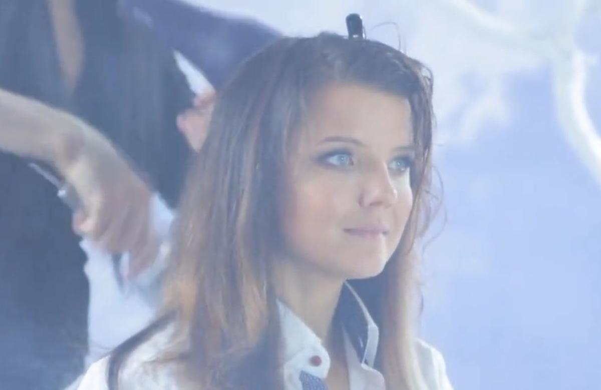 Joanna Horodyńska u fryzjera Kajetana Góry
