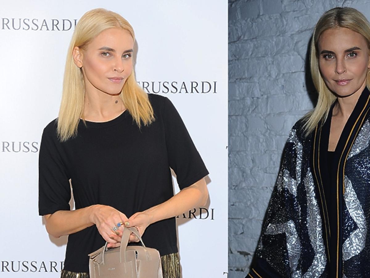 Joanna Horodyńska w blond włosach