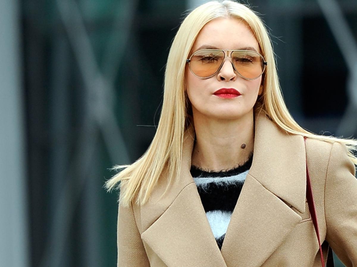 Joanna Horodyńska w okularach