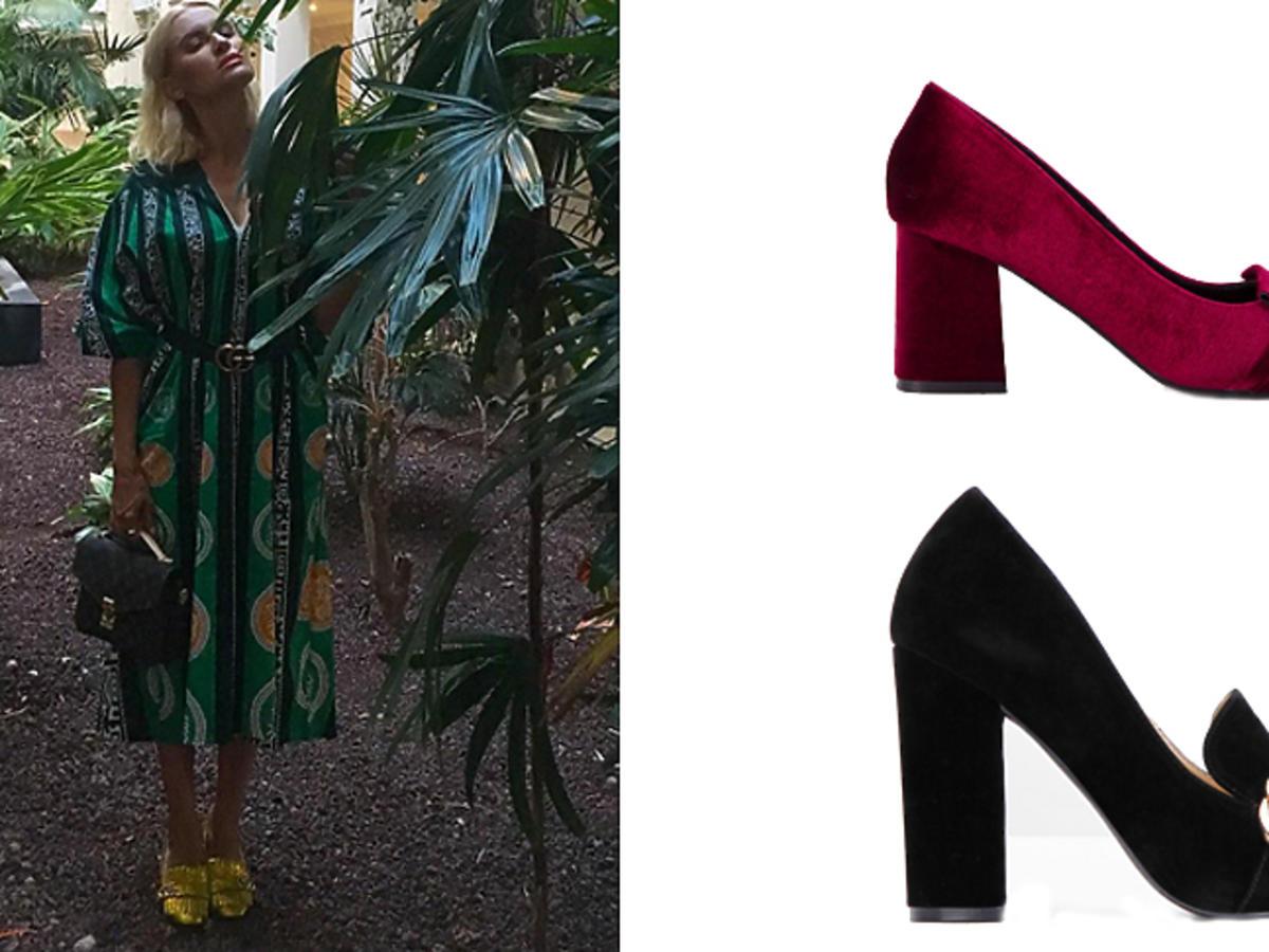 Joanna Horodyńska w złotych butach