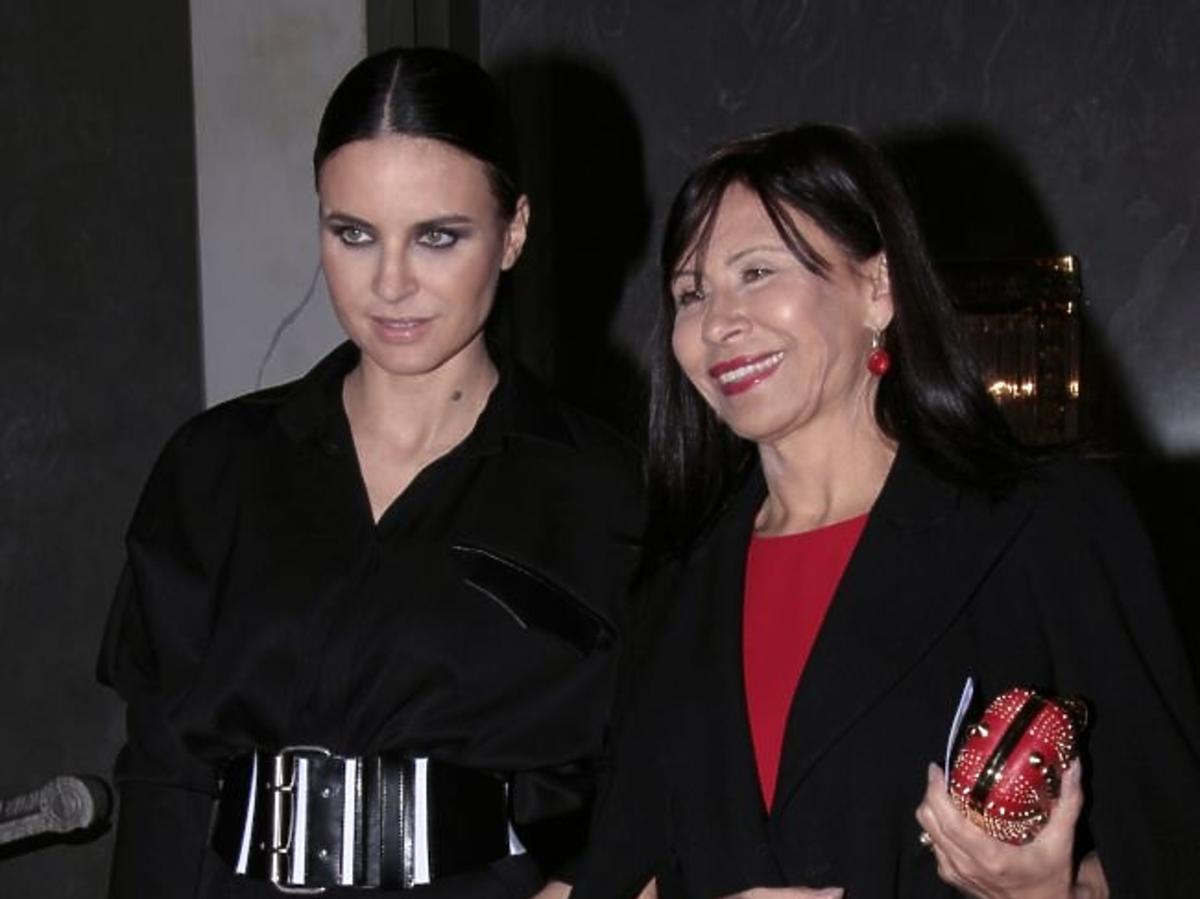 "Joanna Horodyńska z mamą na premierze opery ""Manon Lescaut"""