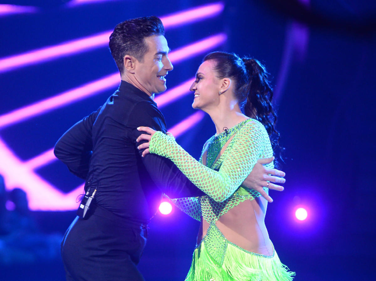 Joanna i Jan w tańcu z gwiazdami taniec turniejowy