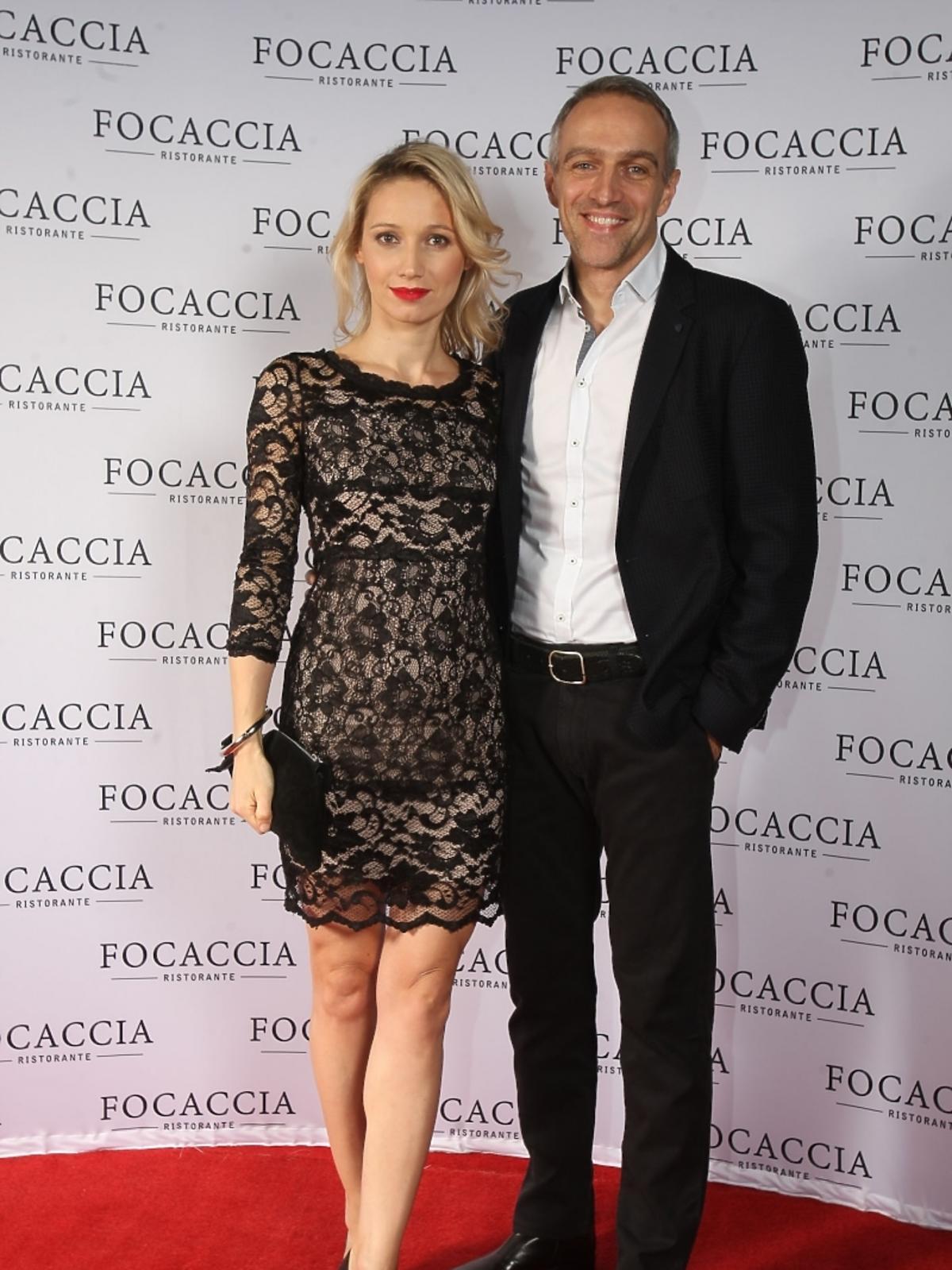 Joanna i Paweł Orleańscy na otwarciu restauracji Focaccia