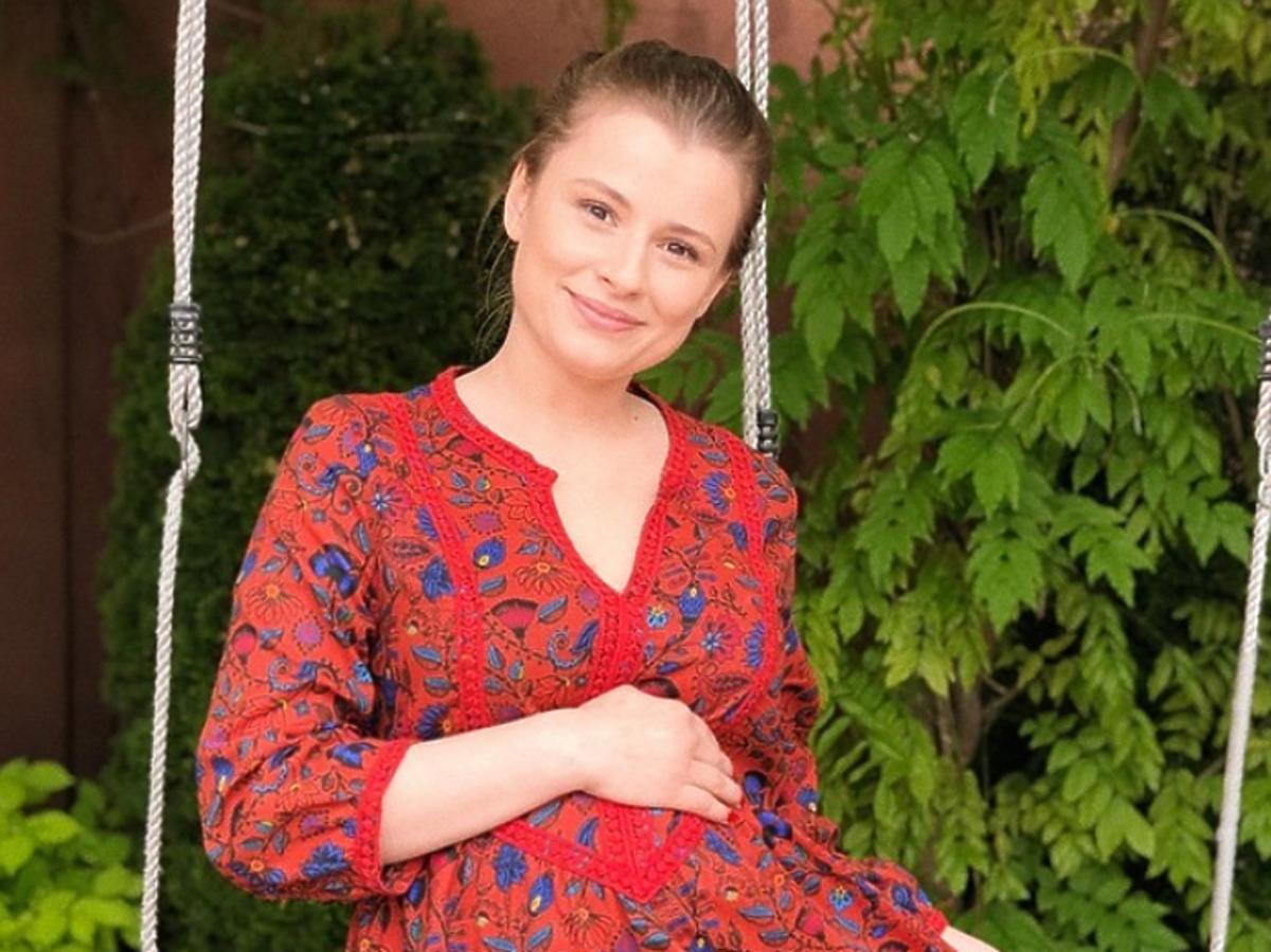 Joanna Jarmołowicz w ciąży