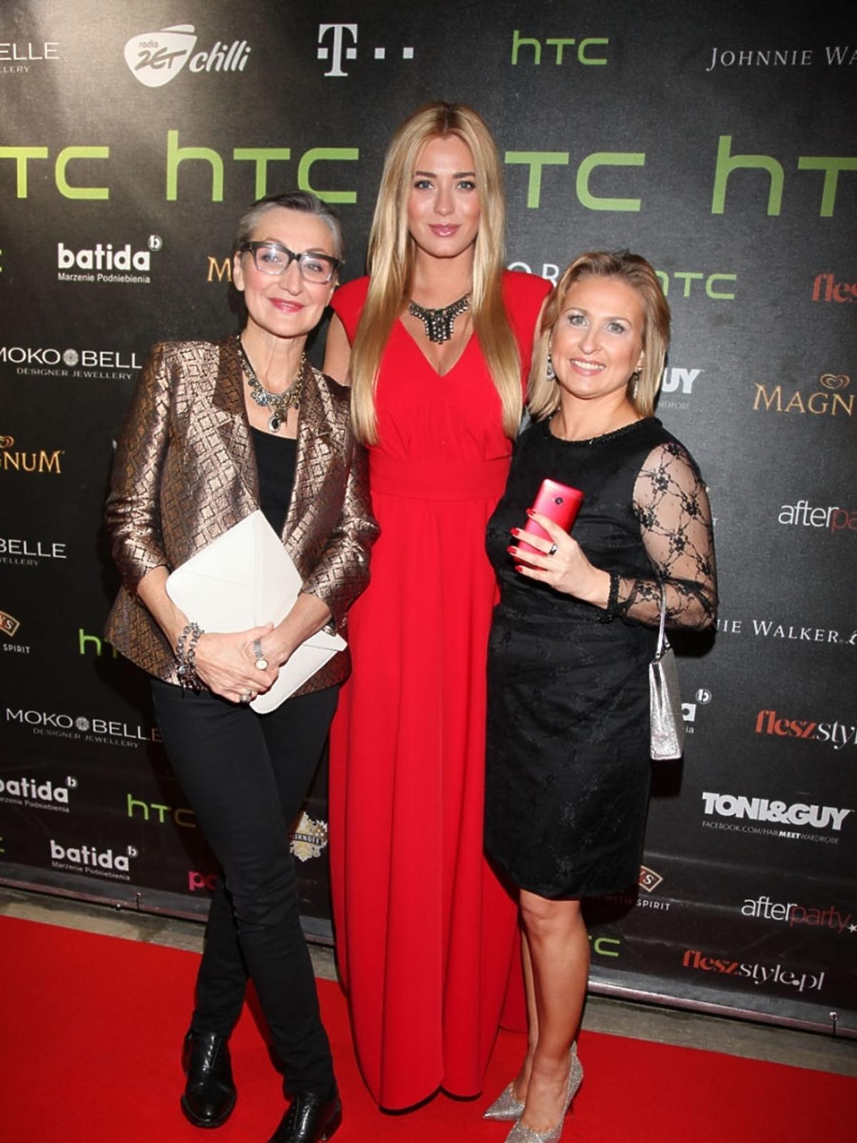 Joanna Klimas, Marcelina Zawadzka i Agata Cichowicz