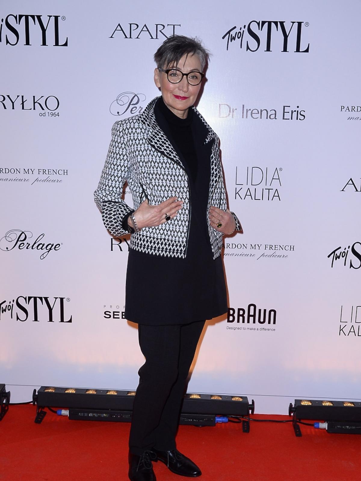 Joanna Klimas na imprezie Doskonałość Mody Twojego Stylu