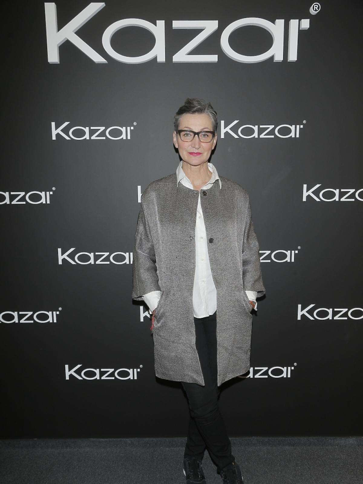 Joanna Klimas na pokazie Kazara
