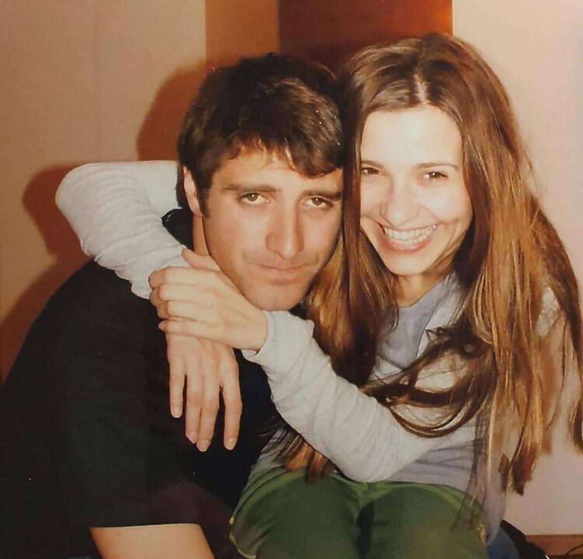Joanna Koroniewska i Maciej Dowbor na dawnych zdjęciach w knajpie