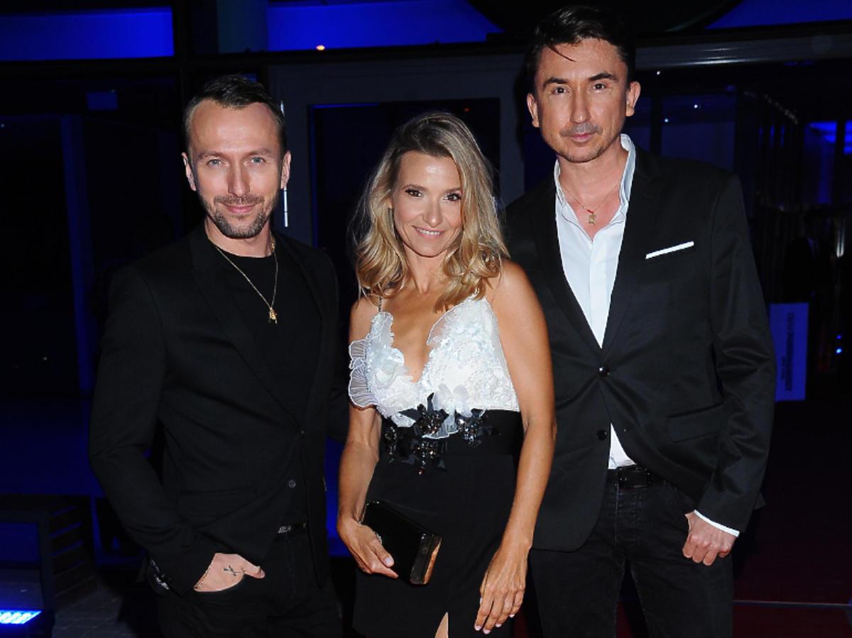 Joanna Koroniewska jako muza duetu Paprocki & Brzozowski na gali Flesz Fashion Night 2019