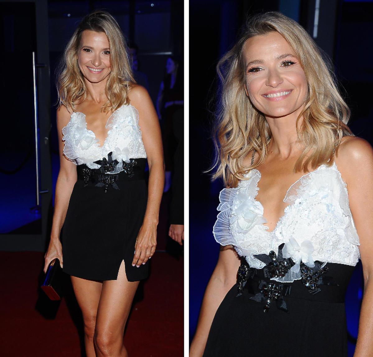 Joanna Koroniewska na gali Flesz Fashion Night 2019