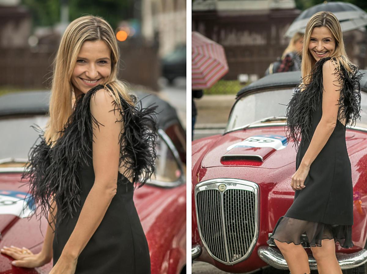 Joanna Koroniewska na zakończeniu rajdu Mille Miglia 2019