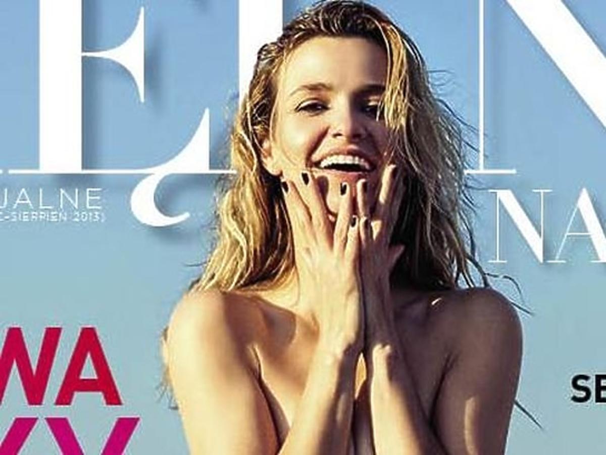 "Joanna Koroniewska topless na okładce ""Viva! Piękna na lato"""