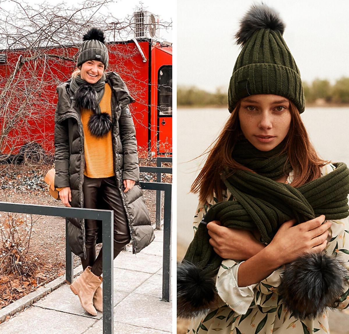 Joanna Koroniewska w czapce Naoko