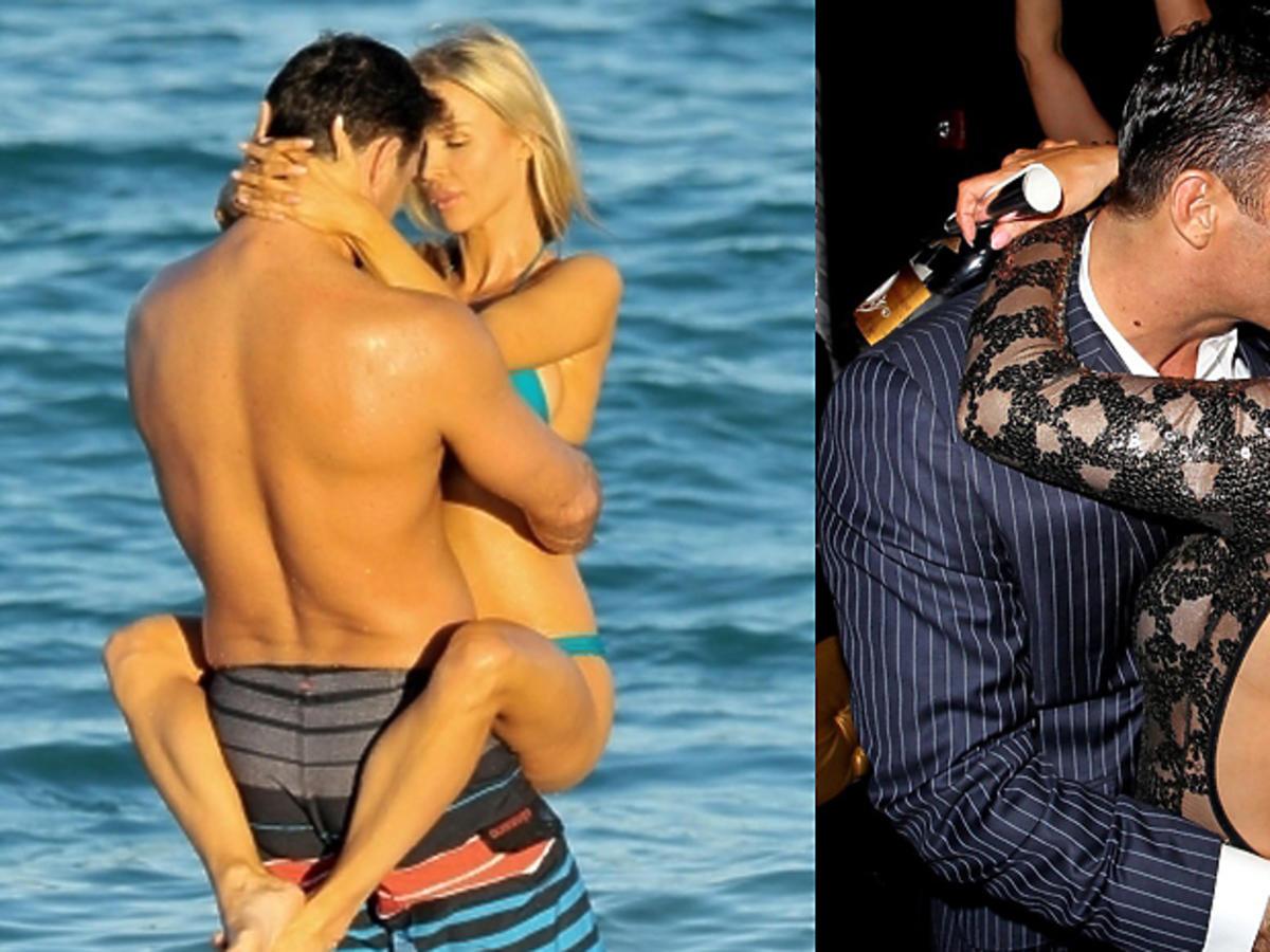 Joanna Krupa całuje Romaina Zago
