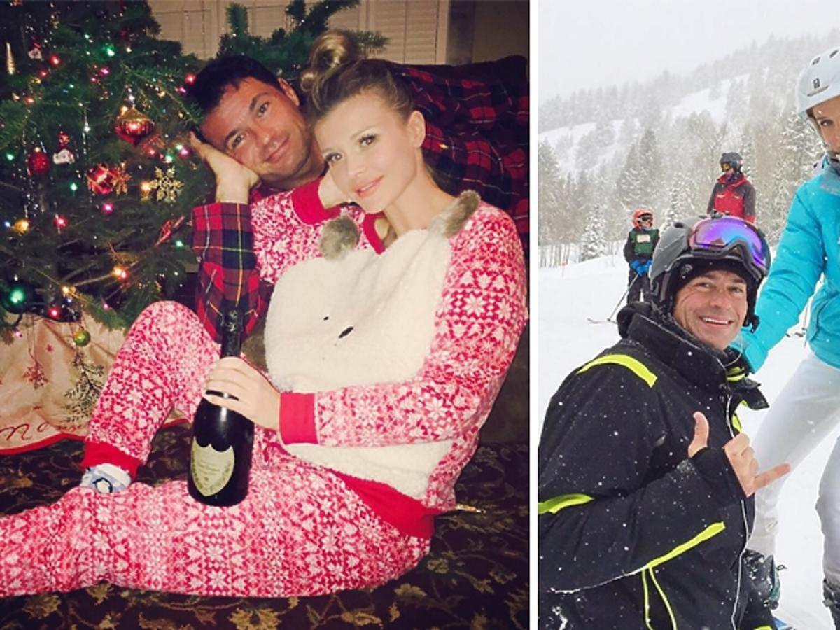 Joanna Krupa i Romain Zago na świętach - zdjęcia z Instagrama modelki