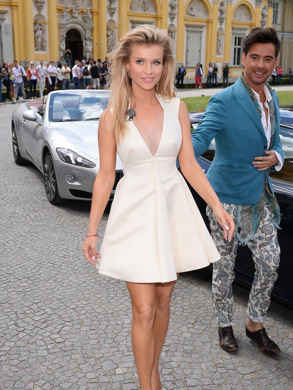 Joanna Krupa na castingu Top Model 4 w Warszawie