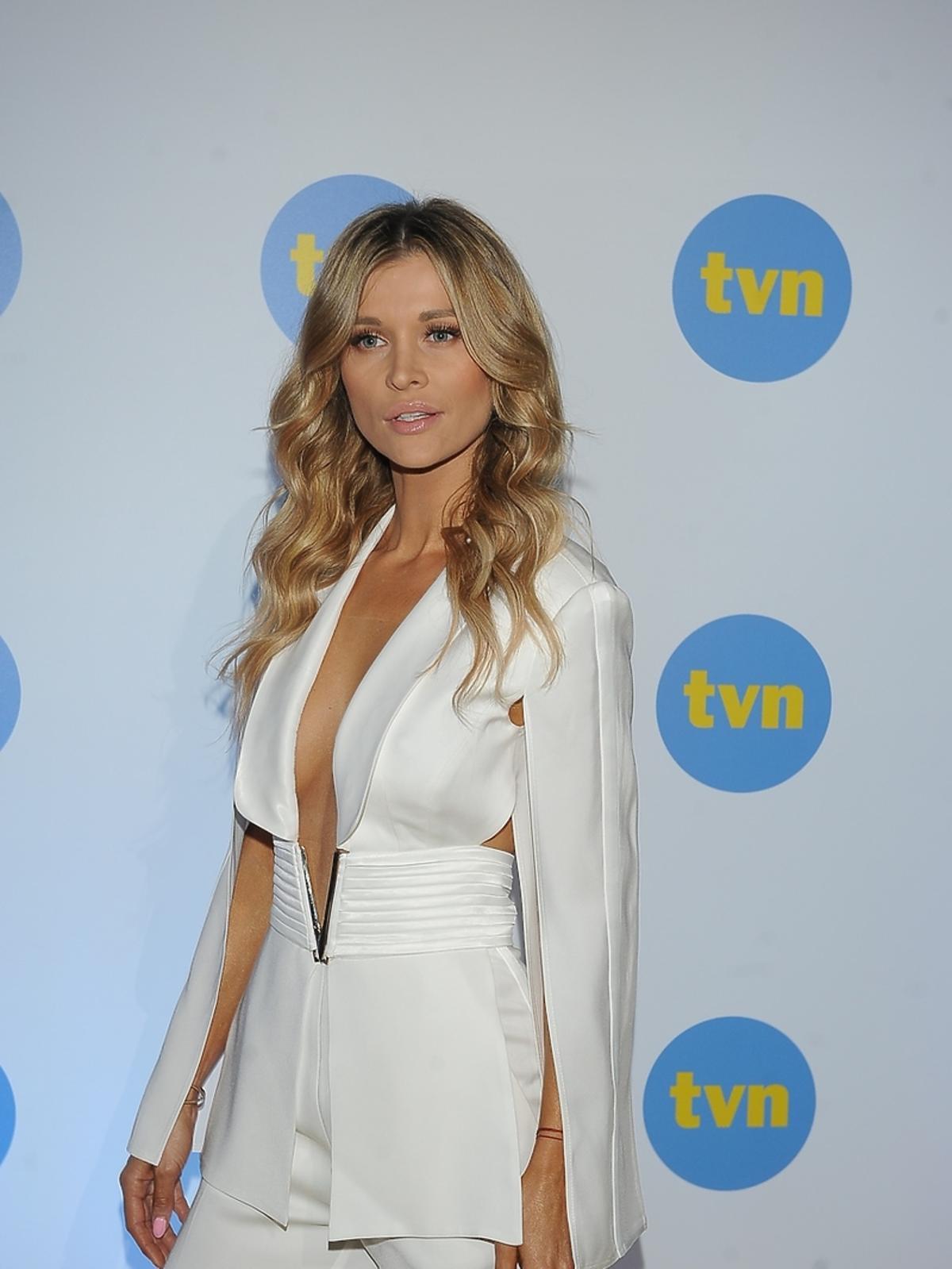 Joanna Krupa na ramówce TVN 2017 - Top Model