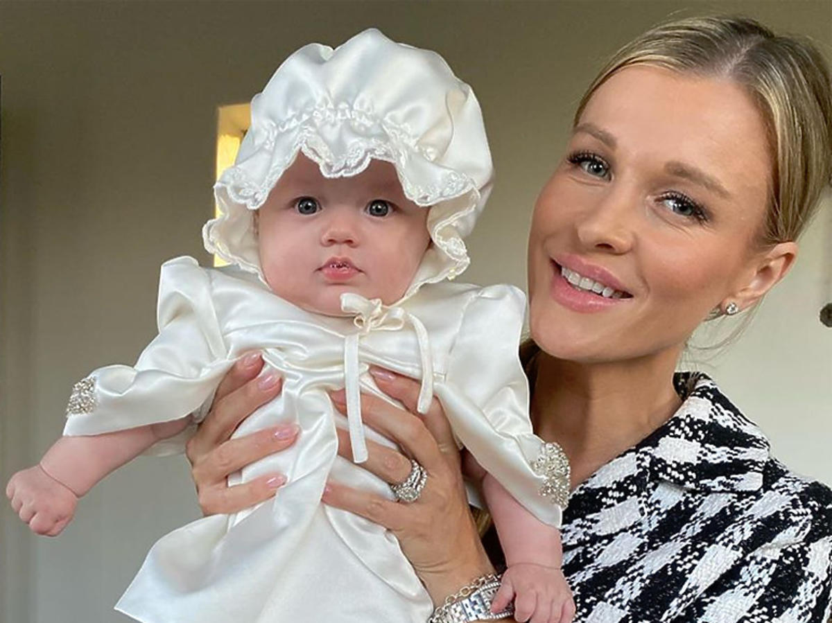 Joanna Krupa ochrzciła córkę