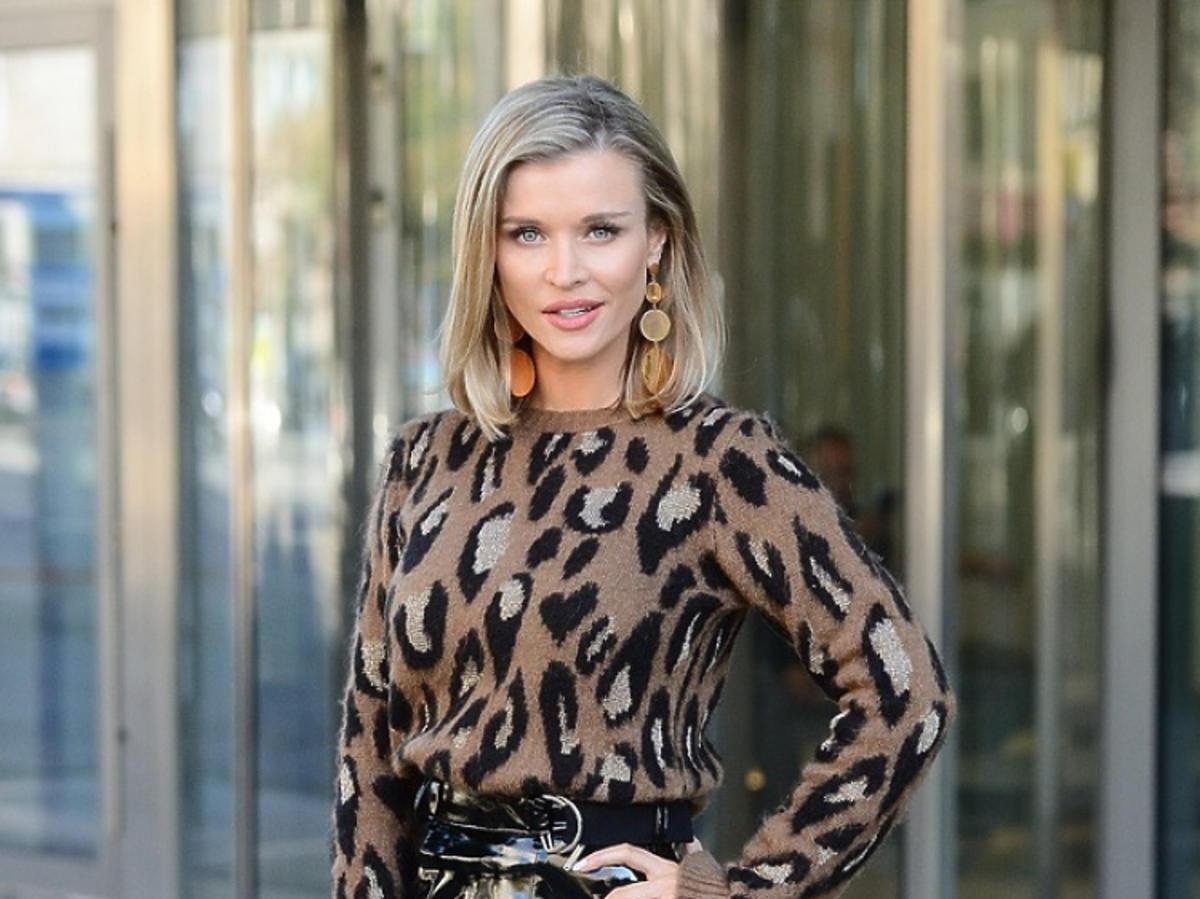 Joanna Krupa pod studiem DDTVN