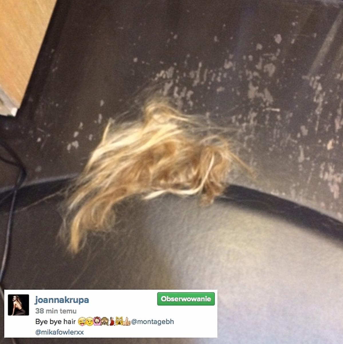 Joanna Krupa w krótkich włosach