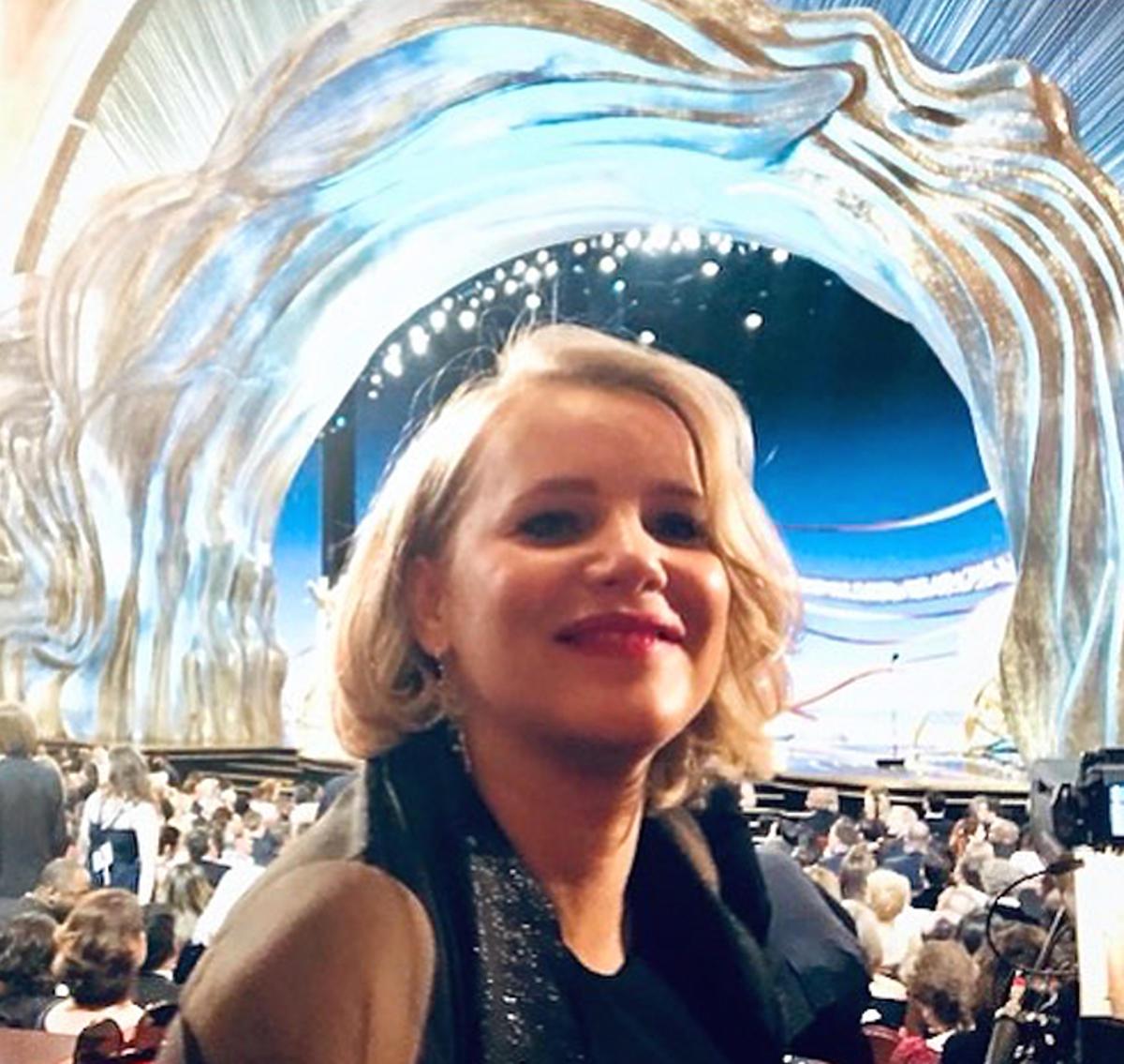 Joanna Kulig na gali oscarowej 2019