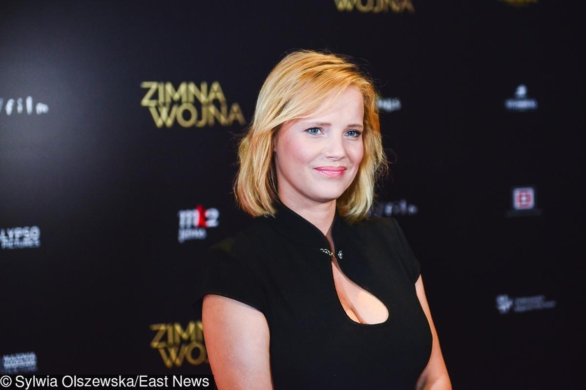 Joanna Kulig na premierze Zimnej wojny