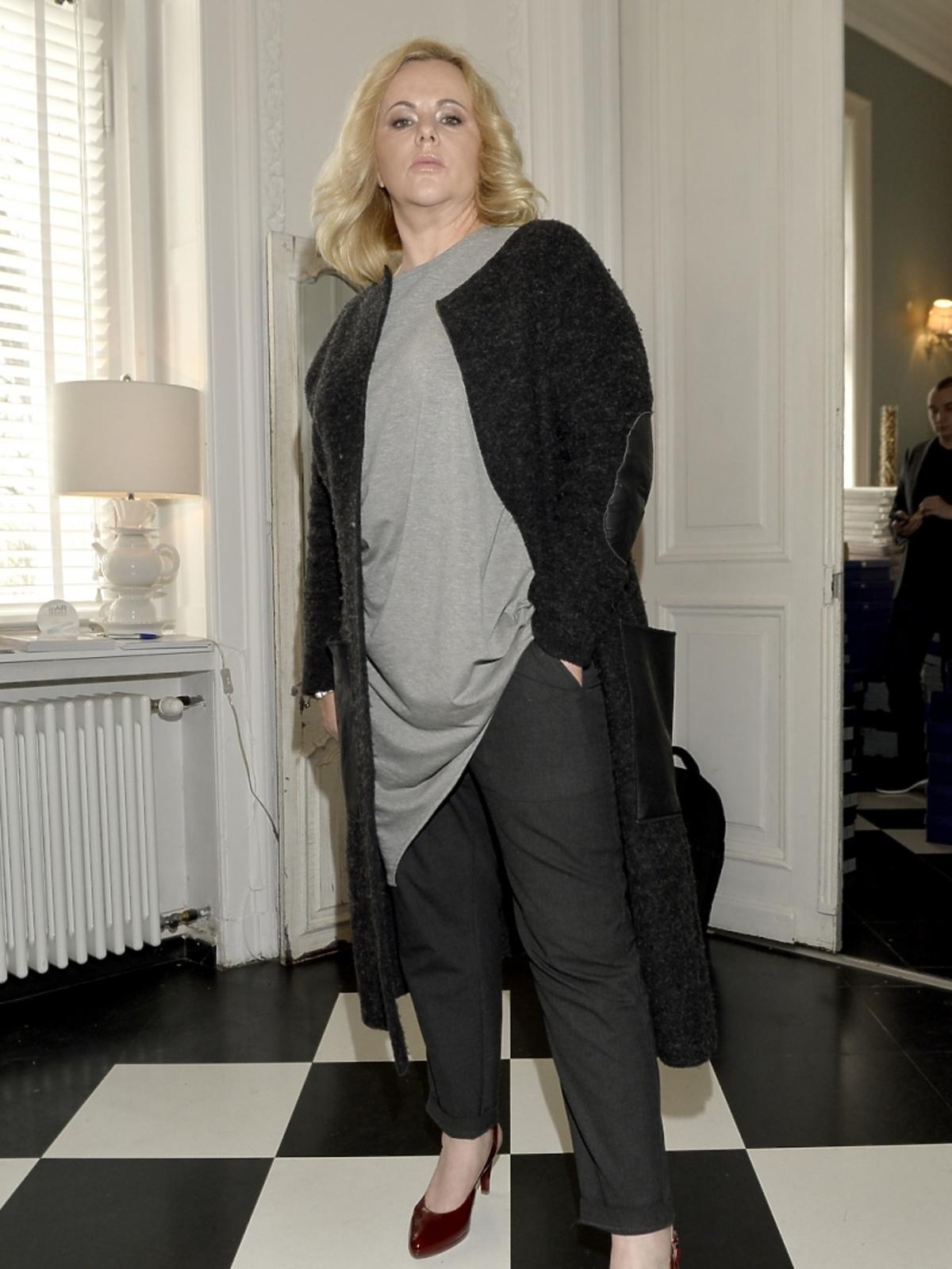 Joanna Kurowska na dniu otwartym marki Caprice