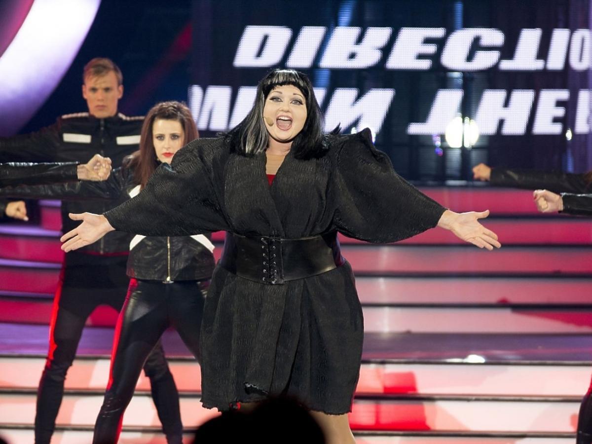 Joanna Liszowska jako Beth Ditto w Twoja Twarz Brzmi Znajomo