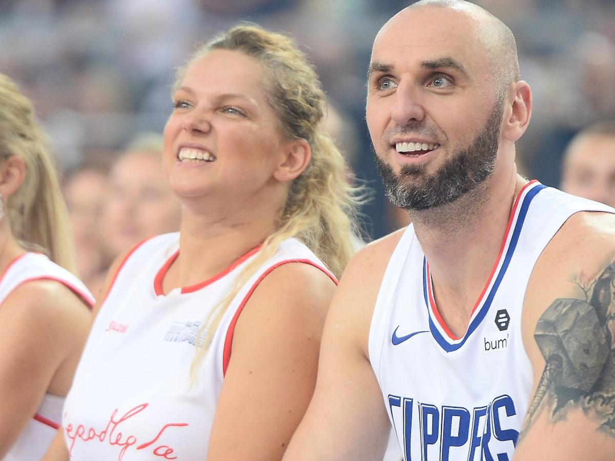 Joanna Liszowska, mecz z Gortatem