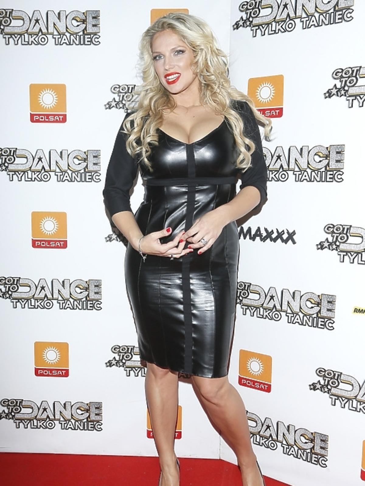 Joanna Liszowska po ciąży na planie Got to Dance