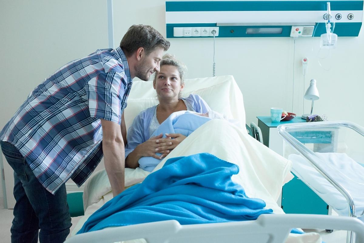 Joanna Liszowska w szpitalnym łóżku