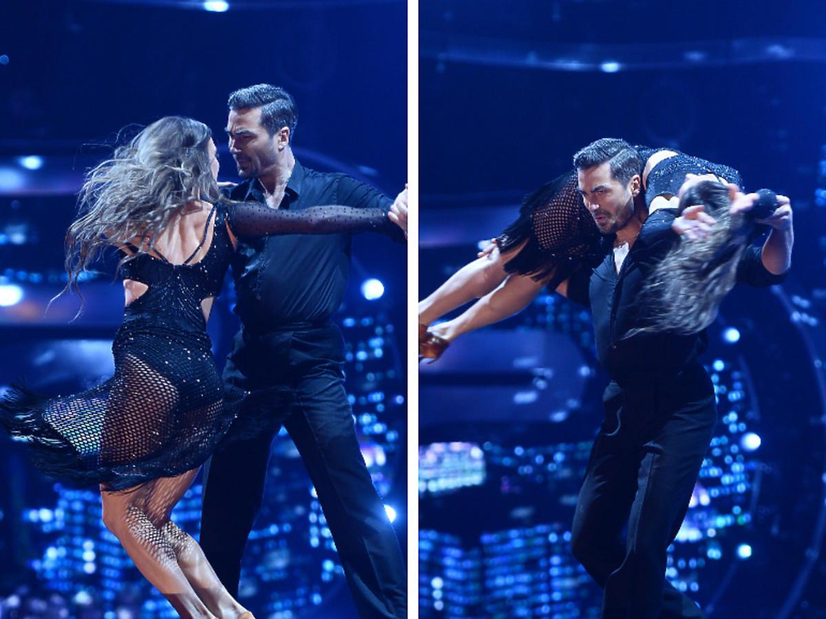 Joanna Mazur i Jan Kliment tańczą rumbę w półfinale