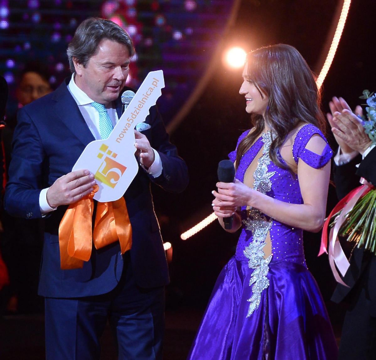 Joanna Mazur otrzymała klucze do mieszkania w Tańcu z Gwiazdami