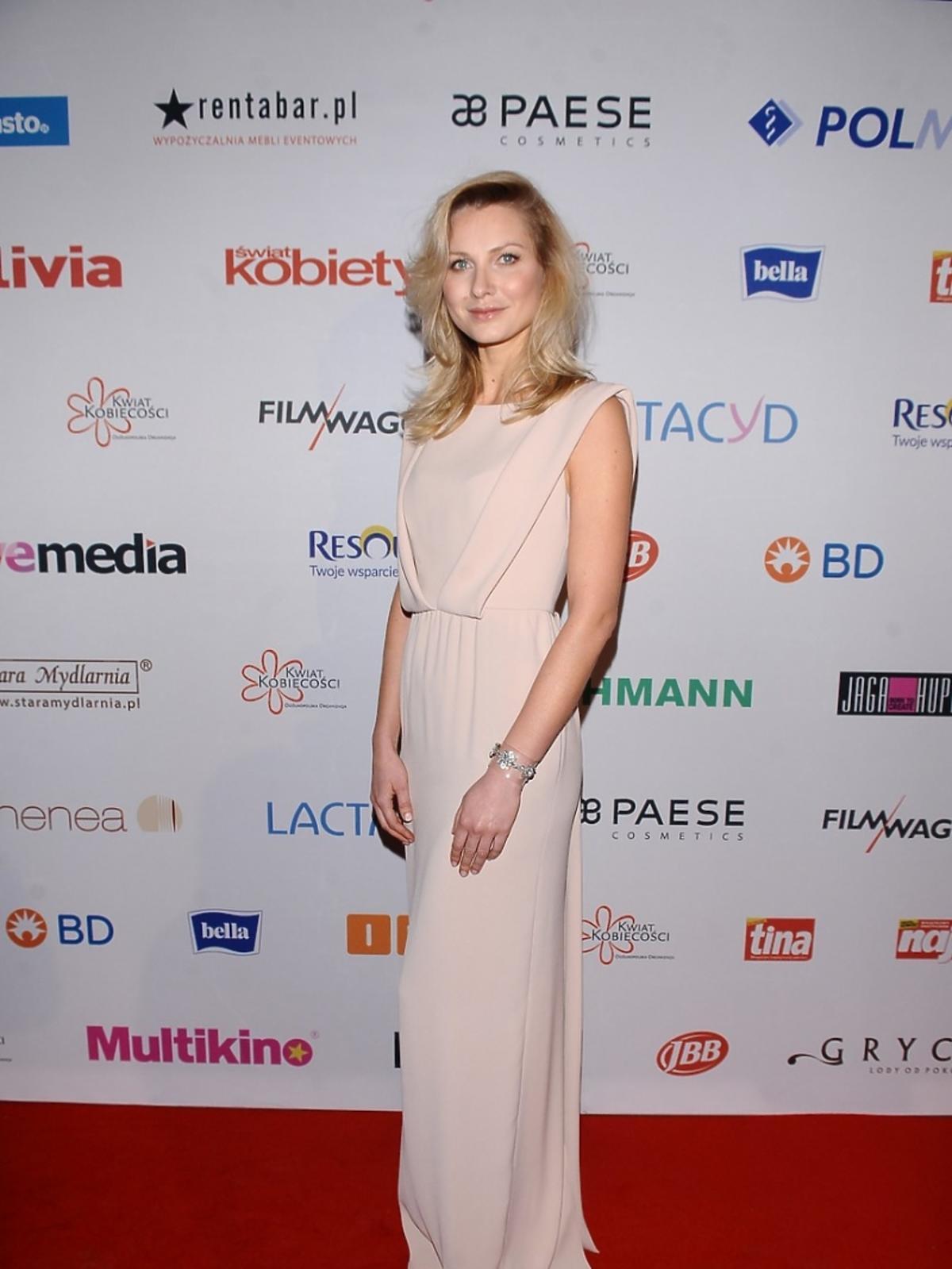 Joanna Moro na Gali Finałowej Piękna bo Zdrowa