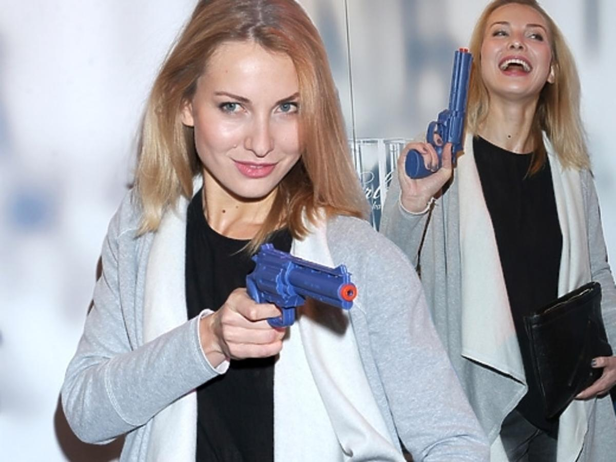 Joanna Moro na pokazie Paprocki & Brzozowski