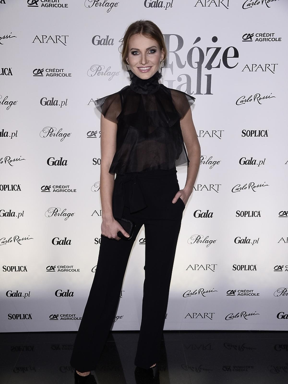Joanna Moro na Różach Gali 2016