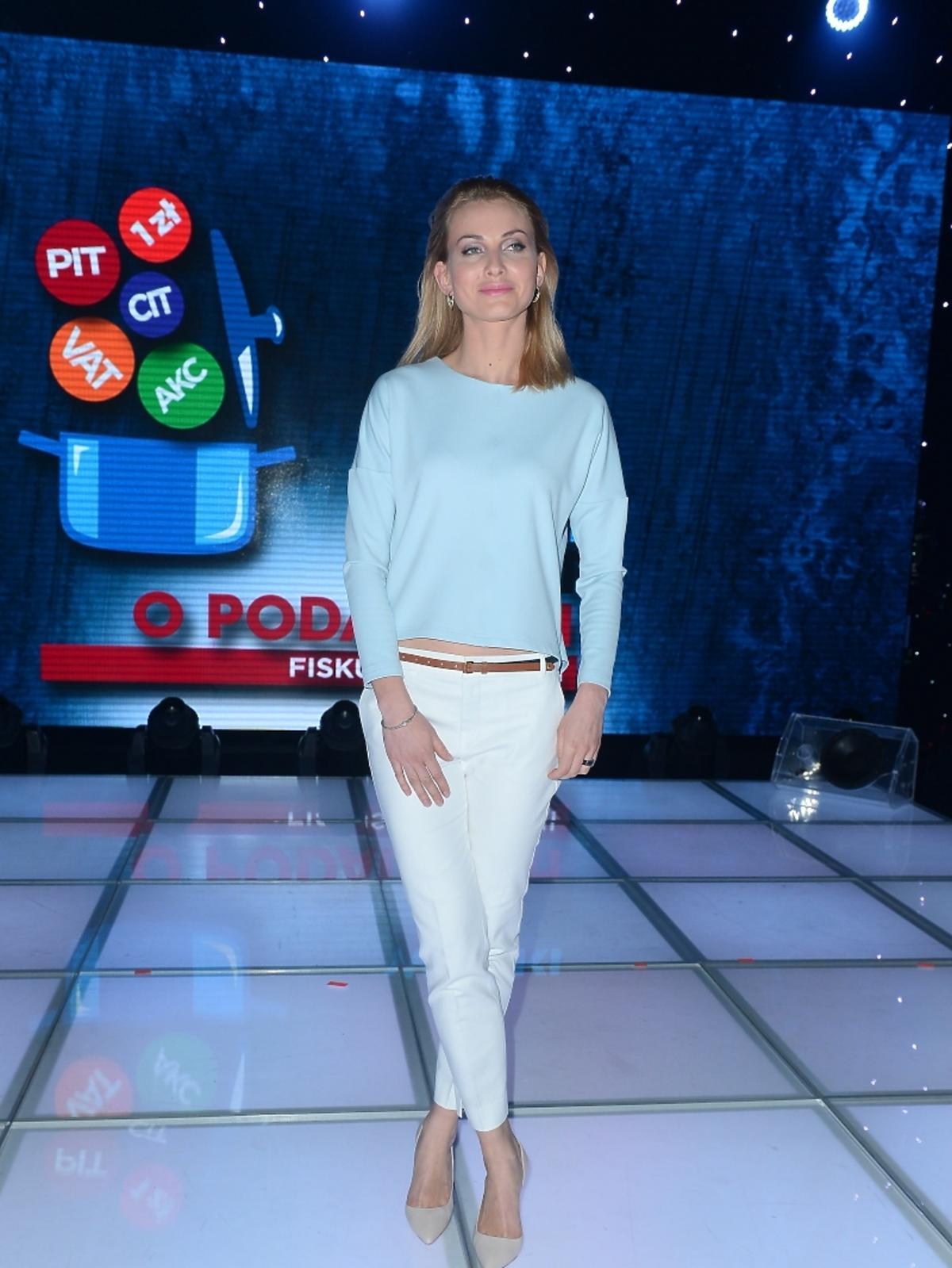 Joanna Moro na Wielkim Teście TVP