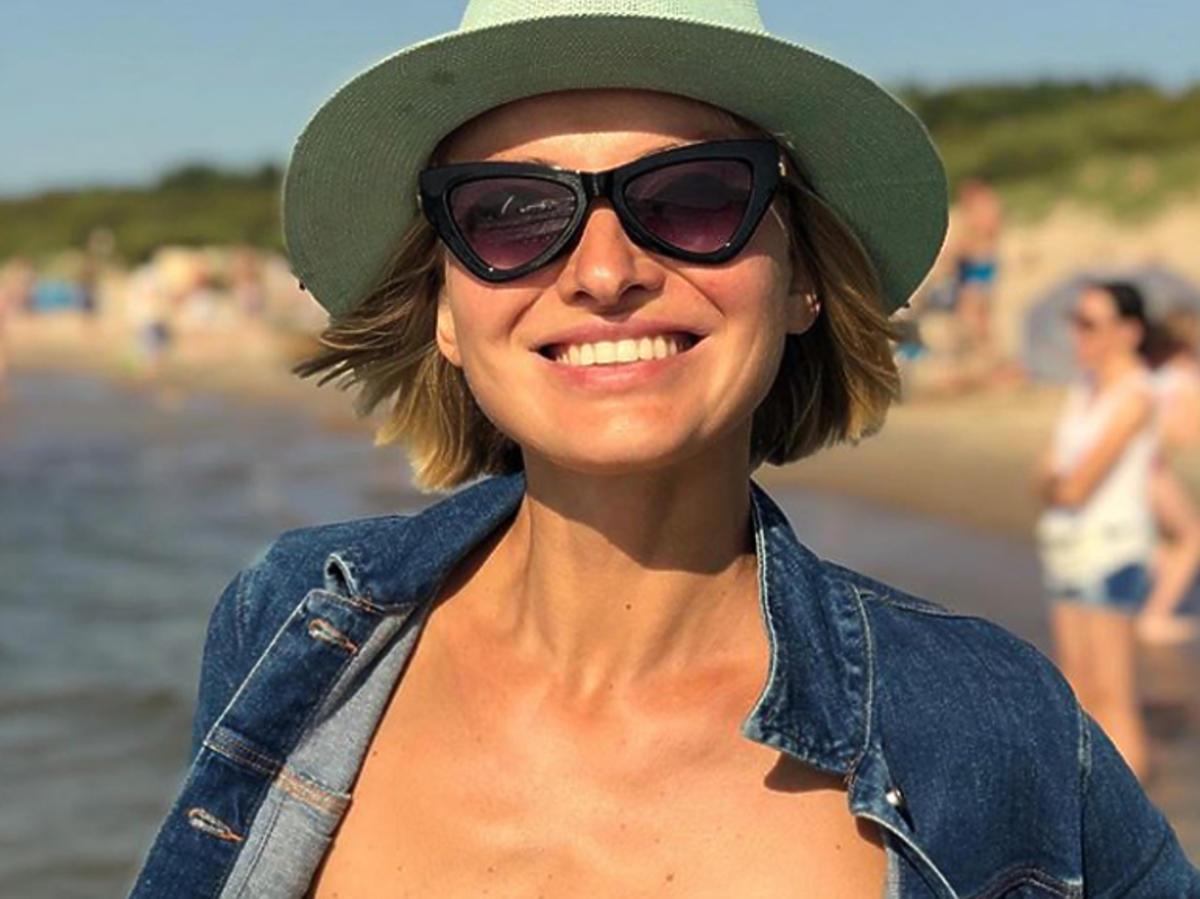 Joanna Moro pokazała brzuch