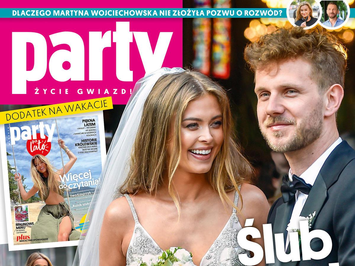 "Joanna Opozda i Antek Królikowscy na okładce ""Party"""