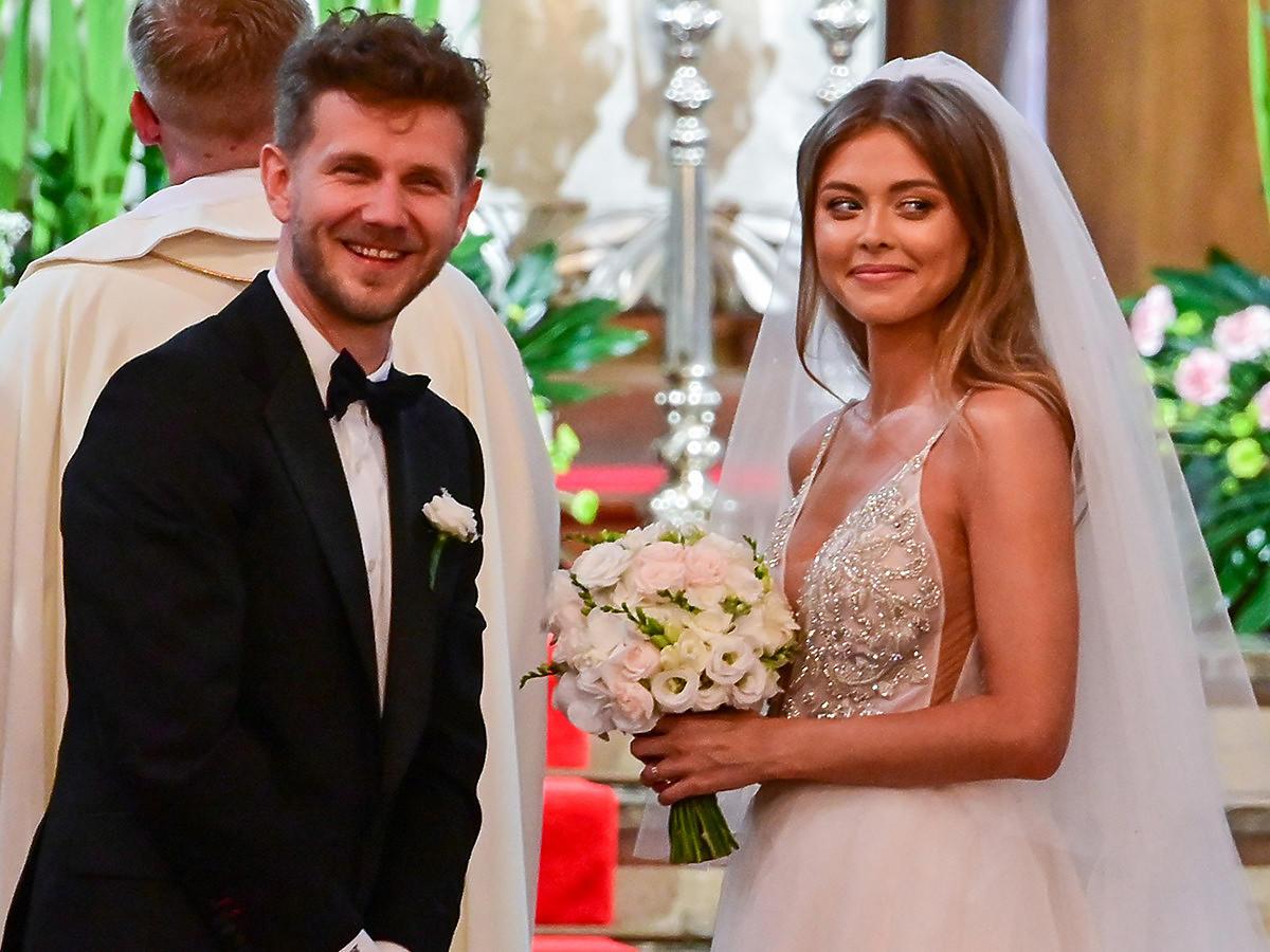 Joanna Opozda i Antoni Królikowski biorą ślub w warszawskim kościele