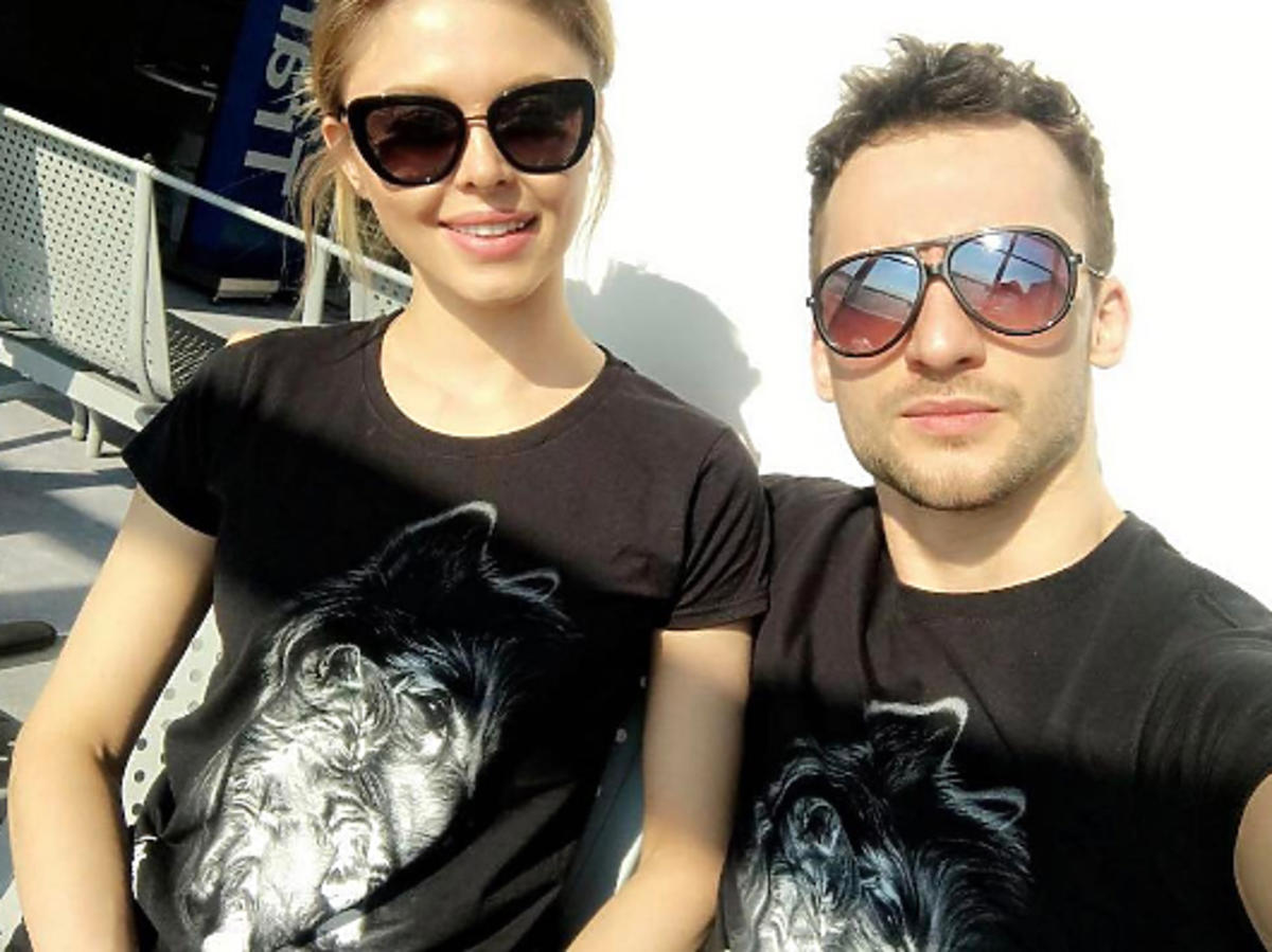 Joanna Opozda i Kamil Kuroczko na wakacjach